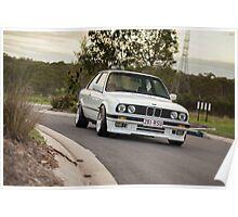 BMW E30 Poster