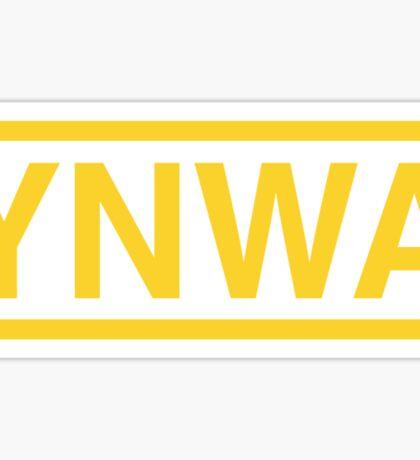 YNWA Sticker