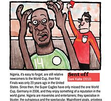Red Cards - Nigeria by dotmund