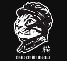 Chairman Meow - Mao parody cat by RobertKShaw