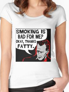 Thanks Fatty! Women's Fitted Scoop T-Shirt