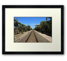 Travel The Old Way Framed Print