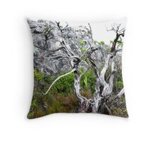 Table Top Tree Throw Pillow