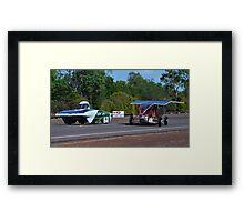 Darwin to Adelaide Solar Car Challenge 2013 Framed Print