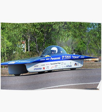 Darwin to Adelaide Solar Car Challenge 2013 Poster