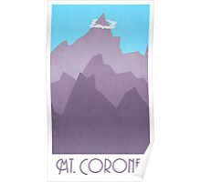 Mt Coronet - Pokemon Poster