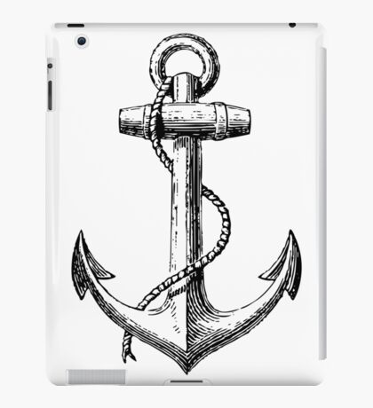 Classic Anchor iPad Case/Skin