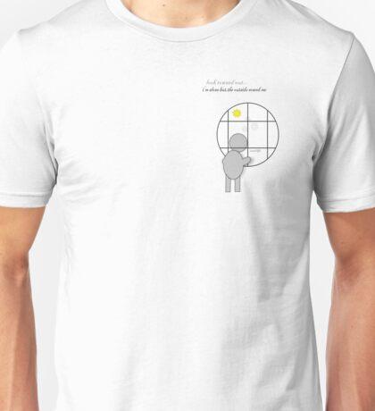scary life Unisex T-Shirt