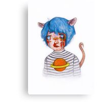 Pudding Canvas Print