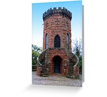 Lookout Tower Greeting Card