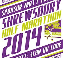 Sponsor Matt | Shrewsbury Half Marathon 2014 by Matt Burgess