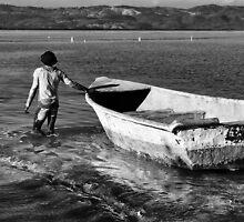 Back to the mooring by Marino Holguin