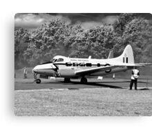 de Havilland DH104 Devon aircraft Canvas Print