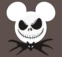 Mickey Mouse dressed as Jack Skellington by sweetsisters