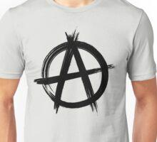 Circle-A Anarchy Symbol (light t-shirt version) Unisex T-Shirt