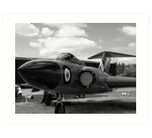 Gloster Javelin F(AW)9 aircraft Art Print