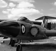 Gloster Javelin F(AW)9 aircraft by Robert Gipson
