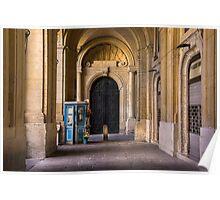 Palace Side-Door Valletta Poster