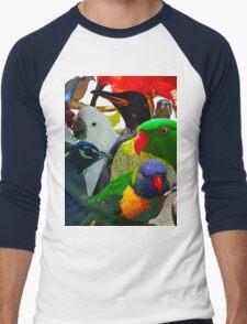 Birds of a Different Feather Men's Baseball ¾ T-Shirt
