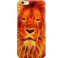 Lion Made of Fire iPhone Case/Skin