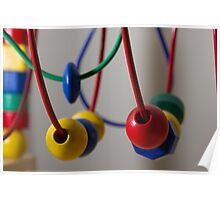 Abstract Kids Toy Poster