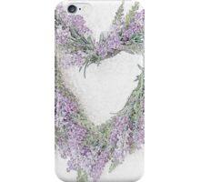 Lavender Heart iPhone Case/Skin