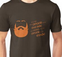 It's the ginger on the inside that counts! Unisex T-Shirt
