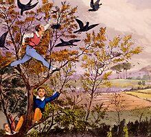 Raiding the Rook's Nest by Bridgeman Art Library