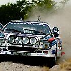 Lancia 037 Rallye - Martini  by Lynchie