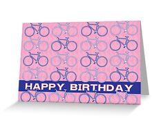 Pop Bikes Greeting Card