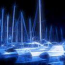 Night Harbour Dream by jean-louis bouzou