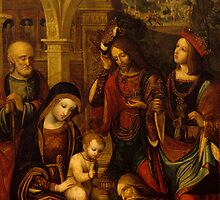 The Adoration of the Kings by Bridgeman Art Library