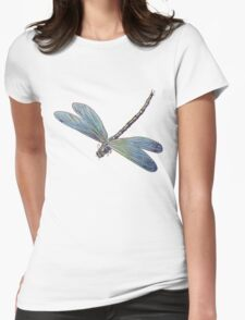 Blue Dragonfly Womens Fitted T-Shirt
