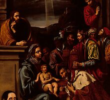 Adoration of the Magi by Bridgeman Art Library