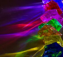 Colored Light Gems by Symbiosis - Justin Brosey