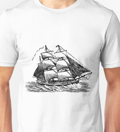 Classic Sailing Ship 01 Unisex T-Shirt