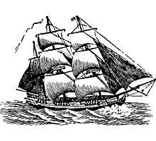 Classic Sailing Ship 01 Photographic Print