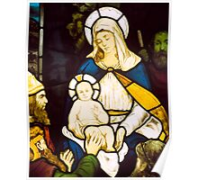 Nativity, possibly from Springburn Parish Church, Glasgow Poster