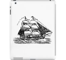 Classic Sailing Ship 01 iPad Case/Skin