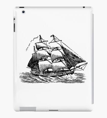 Classic Sailing Ship 01 iPad Case/Skin