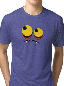 Cute Vampire Big Eyes Tee Shirt Tri-blend T-Shirt