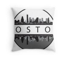 Boston Massachusetts Throw Pillow