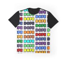 Dope pattern Graphic T-Shirt