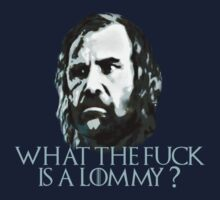 What the fuck's a Lommy? - Sandor Clegane - game of thrones by FandomizedRose