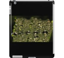 Leaf Water Droplets iPad Case/Skin