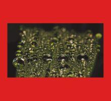 Leaf Water Droplets Kids Tee