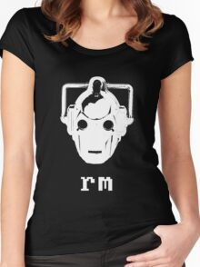 'nix Cyberman Women's Fitted Scoop T-Shirt