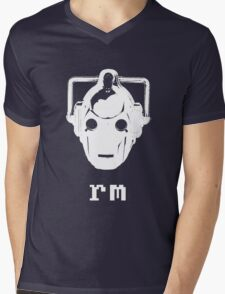 'nix Cyberman Mens V-Neck T-Shirt