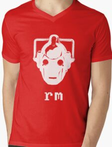 'nix Cyberman Mens V-Neck T-Shirt