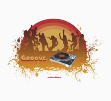 Turntable Groove Party by retrorebirth